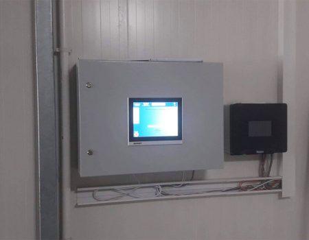 Komputer sterujący systemem nawadniania pieczarkarni