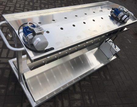 Транспортная и стыковочная тележка с двумя приводами с загрузкой