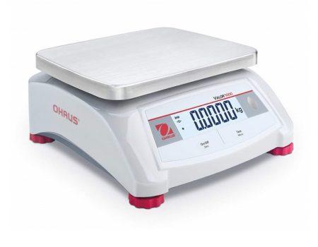 Белые компактные грибные весы OHAUS VALOR 1000
