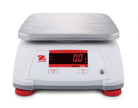 Waterproof scale OHAUS VALOR 2000 in plastic housing