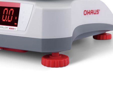 Wodoodporna waga OHAUS VALOR 4000, zbliżenie na nóźkę wagi